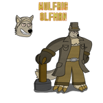 New Outfit For Wulfric by TheArgoNinja