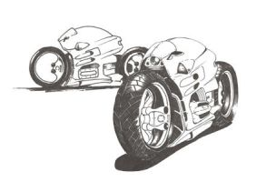 Motorcycle by Rayman72011