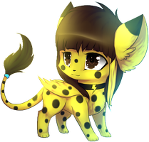 ''Chibi'' by Ivon-Cheetah
