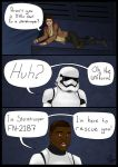 Poe and Finn by 7fn