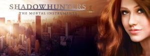 Facebook Header SHADOWHUNTERS (Clary Fray) by kim-beurre-lait