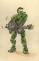 Master Chief by hellofacopter