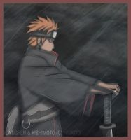 Naruto 446: Yahiko. by THE-LINDGREN