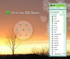 Fresh ICQ 6 Flowers by scorpion919
