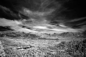 Bailey lake and GNP by NickSpiker