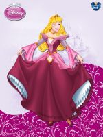 DisneyPrincess - Aurora2 ByGF by GFantasy92