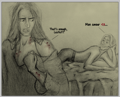 Lestat and Louis by LilithMF