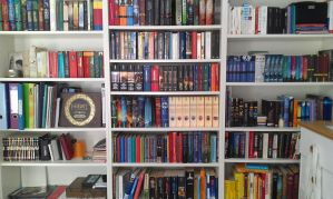 My bookshelf by sukieblackmore