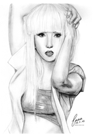 Lady Gaga by emmaxmaree