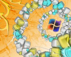 Windows 7 Background C4D inv by stefitms
