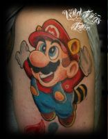 Mario tattoo by WildThingsTattoo