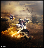 Dirt Bike by SadiqAhmed123