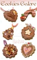 FIMO Cookies Galore by colourful-blossom