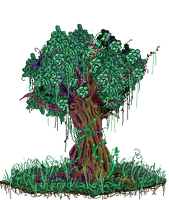 Pixel Tree by xBaka-Princex