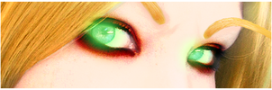 Bloodelf: Eye Detail by VampiaZee