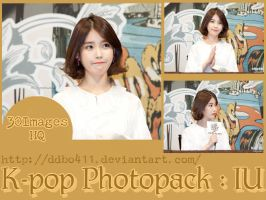 PhotoPack K-pop #1 : IU by DDBo411
