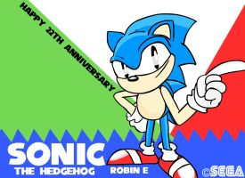 Sonics 22th anniversary by RobbanFoxer