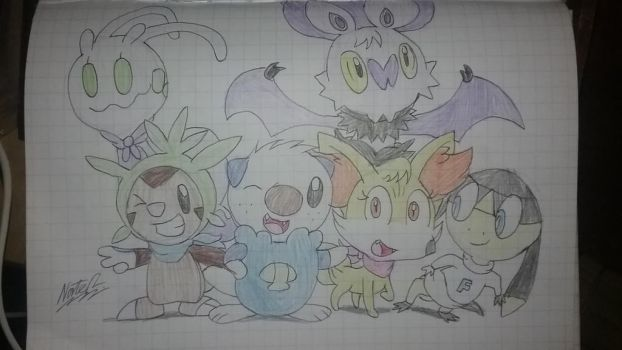 Team Retcon (the WHOLE team) by NateReevs2002