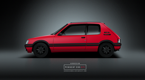 Peugeot 205 gti by AeroDesign94