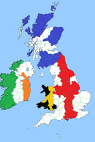 Britain and Ireland - Flag Map by Rory-The-Lion