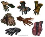 Gloves Design #1 by Concept-Art-House
