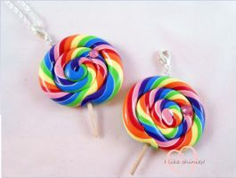 SCENTED Bubblegum lollipops (Large) by ilikeshiniesfakery