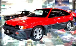 Honda Civic CRX Diecast by toyonda