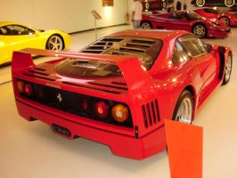 Ferrari F40 back by daharid