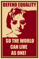 John Lennon For Equality by Hollywood465599663
