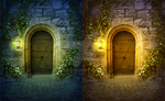 Fantasy Premade Background by Whendell