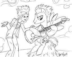 Guitar Practice by ScruffyToto