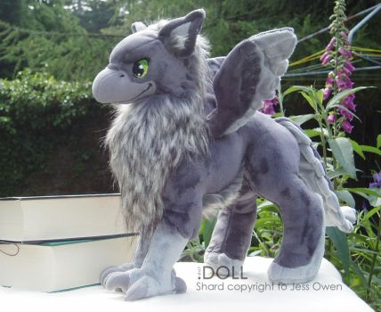 SOTSK Shard Plush Commission by dot-DOLL