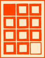 Orange Squares by SimiArbeit