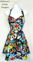 Marvel Avengers dress by imaxxstarfish
