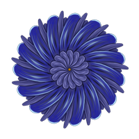 Blue Flower by Toyger