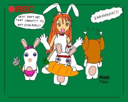 Chiu and the Rabbids by pheeph