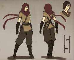 Character Design Round 2 by kawoXD