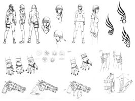 Avis Concept Sketches by AreYoU