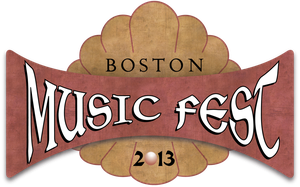 Boston Music Fest Logo by chibi-cupcake