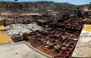 Tanneries, Fes, Morocco by do7slash