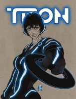Quorra of TRON by artofJEPROX