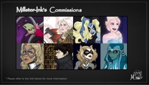 Commission Sheet (Updated) by Millster-Ink