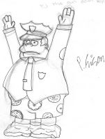 Chief Wiggum by PatrickOrTreat