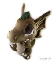 Sproutling Draik Plush Sitting by TeacupLion