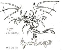 Cynder as Carnage by silver-wing-mk2