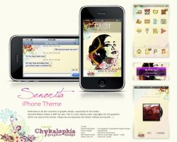 Senorita Iphone Theme by chykalophia