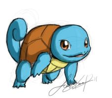 Squirtle by Tiggstar