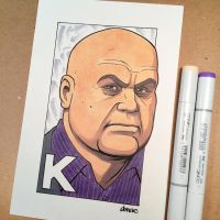 K is for Kingpin by D-MAC