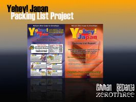 Packing List Project by emman03