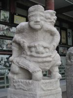 Hitching Rail Statue 03 by Ghost-Stock